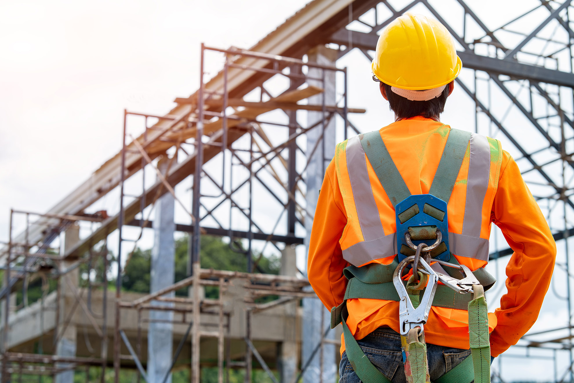 construction-worker-wearing-safety-harness-safety-line-working-high-place-practices-occupational-safety-health-can-use-hazard-controls-interventions-mitigate-workplace-hazards